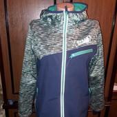 """Термо куртка-кофта на флісі """"V.F.K. на 10-12 років"""