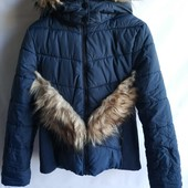 Тёплая куртка пальто шведского бренда H&M Европа Оригинал