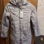 отличная новая куртка демисезон 158 бирка