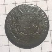 Монета Польши Грош 1756