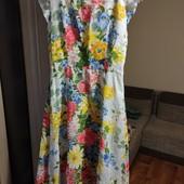 Платье макси 46-48р.