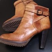 Кожаные сапоги, ботинки Minelli еврозиму Деми р.40 Читаем описание