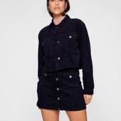 Укороченный вельветовый пиджак куртка M