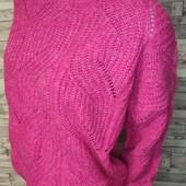 Роскошный свитер оверсайз с альпакой новый сток 16 рр TU