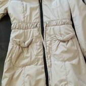 Пальто тёплое на утеплители