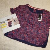 женская стильная функциональная футболка, оверсайз, от Crivit.