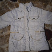 Италия.Теплая курточка на рост 98-110