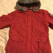 Курточка єврозима на зріст орієнтовно 116 см, див.заміри