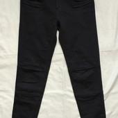 Черные джинсы скини с замочками,Zara,s