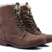 Утеплённые демисезонные ботинки 36, 37 размеры