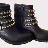 Кожаные ботинки made in Italy