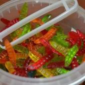 Желейные червячки 150 шт. Очень вкусные)