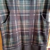 Стильное платье! 44-46ррМодная клетка!!