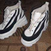 Стильные ботинки. 23см.