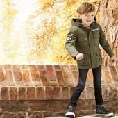 Стильная, качественная куртка-парка для мальчика, Lupilu размер 86