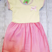 Нарядное красивое детское платье.