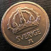 монета Швеция 10 эре, 1948, серебро
