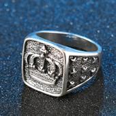 Кольцо Мужское Стерлинговое серебро 20 размер