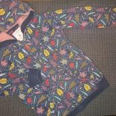 Утеплённая кофта на байке для девочки, на 8-9лет, на рост 128-134