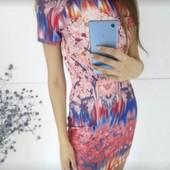 Платье от Zara, стильное и яркое