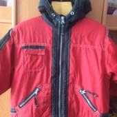 куртка, холодная весна, 3 года 98 см, Etirel. состояние отличное