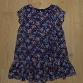 Ажурное платье- туника George состояние очень хорошее
