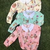 Детская блуза на рост 110-116 см