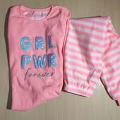 Primark флисовая яркая пижама 134-140 см