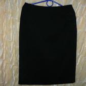 тёплая прямая юбка 44-46 р