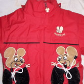 Зимняя курточка с 2-3.5 лет смотрите замеры