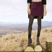 Стильная стрейч юбка Esmara L evro 44/46+6 велюр в рубчик
