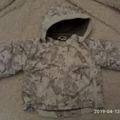 курточка на весну 3-6 мес