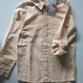 Лёгкая рубашка лен хлопок H&M. На выбор одна.