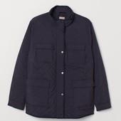 H&M+ Стеганая куртка готовимся к потеплению