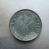 Рейх 10 пфеннігів 1941