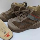 """=Отличная обувка ботиночки """"Elefanten"""" р.21 стелька-13,8см (уп-10%)"""