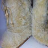 мохнатые луноходы. сноубутс, сапоги, дутики, унты 22.5 см