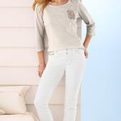 Новые!Стильные белые джинсы от Тсм Чибо (германия), размер 46 евро,наш 52-54