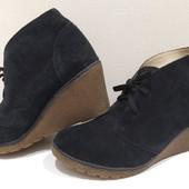 """=100%-Кожа-замша! Cуперовые туфли - ботильоны """"Primadonna"""" р-41, 27см. уп-10%"""