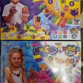 "Набір пластиліна ""Air Clay"" + ""bubble clay"" danko toys"