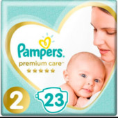 Подгузники, pampers premium care, 2
