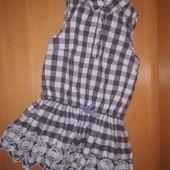 M&S платье на 8-9лет, на рост 134