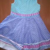 Платье Monsoon на 2-3года, на рост 98