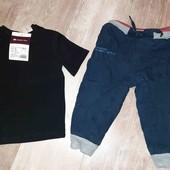 утепленные штаны и футболка(новая),смотрите фото и описание