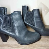 25.5 см. Отличные кожаные ботинки.сапоги. полусапоги
