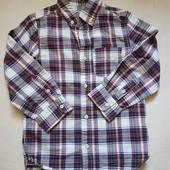 Рубашка H&M 5-6л