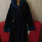 Теплющий меховой халат