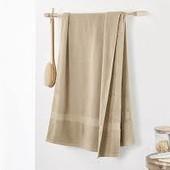 ❖Банное махровое большое полотенце, от тсм Tchibo (чибо), Германия, 140х70 см
