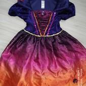 Платье карнавальное на Хеллоуин 3-6лет замеры на фото