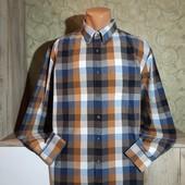 Собираем лоты!! Мужская рубашка в клетку, размер xxl
